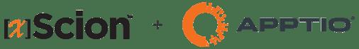 Apptio xScion Partnership Logos